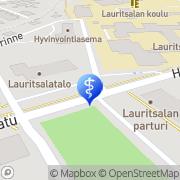 Kartta Lappeenrannan kaupunki Lauritsalan terveysasema Lappeenranta, Suomi
