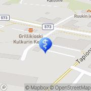 Kartta Kaavin Fysioterapia Kaavi, Suomi