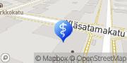 Kartta Fysikaalinen hoitolaitos Fysiodag Joensuu, Suomi