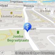 Kaart Boon Tandtechnisch Laboratorium Middelharnis, Nederland