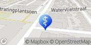 Kaart Verloskundigepraktijk Beverwijk Velsen-Noord, Nederland