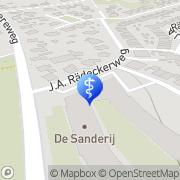 Kaart Tandartsenpraktijk Schoorl Schoorl, Nederland