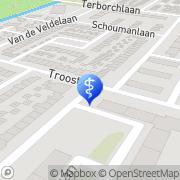 Kaart RV Consult Alkmaar, Nederland