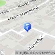 Kaart Balder J M Alkmaar, Nederland