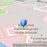 Kaart Correct Vision Alkmaar, Nederland