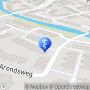 Kaart Samsara Reikipraktijk Alkmaar, Nederland