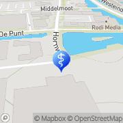 Kaart Internationale Akademie voor Osteopathie Broek op Langedijk, Nederland