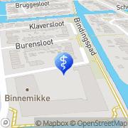 Kaart Huisartsenpraktijk Sonnenberg R J Broek op Langedijk, Nederland