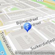Map As Shifaa Dental Care Amsterdam, Netherlands