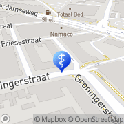 Kaart Chiropractie De Eem Amersfoort, Nederland