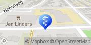 Kaart Fysiocentrum Wageningen Wageningen, Nederland