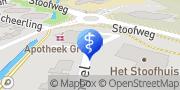 Kaart Logopedie Grave Grave, Nederland