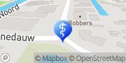Kaart Sleutelbloem Fysiotherapie De Apeldoorn, Nederland