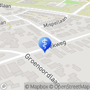 Kaart Verkerk R F Apeldoorn, Nederland