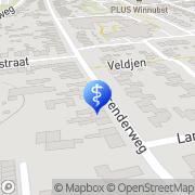 Kaart Lemmen en Postema Algemeen Fysiotherapeuten Heerlen, Nederland