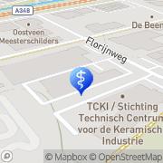 Kaart Onze Huisartsen Velp, Nederland