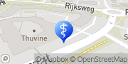 Kaart Fysiotherapie Van Kuppenveld Duiven, Nederland