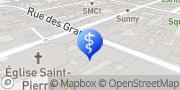 Karte Bulliard Asthie Mireille Besançon, Frankreich