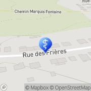 Map Psychothérapeute Metz Metz, France