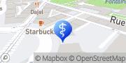 Carte de Névé Clinique Dentaire Genève, Suisse