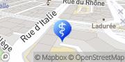 Carte de Centre de Dermatologie Rive Genève, Suisse