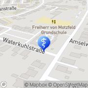 Karte Schoemakers Thrapiezentrum Goch, Deutschland