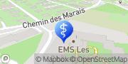 Carte de les Châtaigniers Veyrier, Suisse