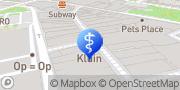 Kaart Opticiens Kluin Meppel, Nederland