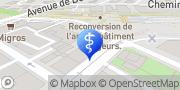 Carte de Centre Vision Chêne-Bourg, Suisse