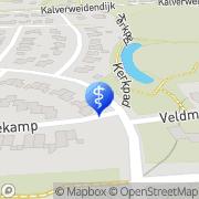 Karte Krabben & Te Hennepe VOF Dinxperlo, Niederlande