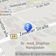 Karte TOMS WOOD DEPOT GmbH Trier, Deutschland