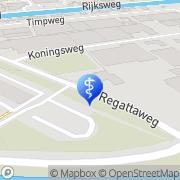 Map Dijk Tandtechniek Henk van Groningen, Netherlands