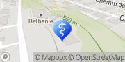 Carte de Institution de Béthanie Lausanne, Suisse