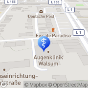 Karte Andreas Tiede Duisburg, Deutschland