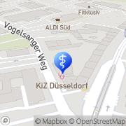 Karte KIZ-Kinderarztzentrum Düsseldorf Düsseldorf, Deutschland