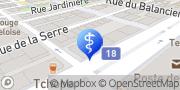 Carte de Centre Ophtalmologique La Chaux-de-Fonds SA La Chaux-de-Fonds, Suisse