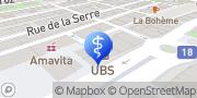 Carte de BBV SA La Chaux-de-Fonds, Suisse