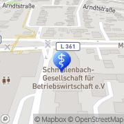 Karte Dr. med. Andreas Wustrow Köln, Deutschland
