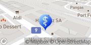 Carte de Dr Khaldi Driss Ostéopathe CDS Vevey, Suisse