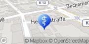 Karte Physiotherapie Daniel Zinke & Kollegen Köln, Deutschland