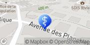 Carte de La P'tite Souris Montreux, Suisse