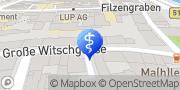Karte DOM CONSULTING Karriereberatung Outplacement Jobcoach Bewerbung Lebenslauf Köln, Deutschland