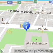 Karte Frau Renate Geib Saarbrücken, Deutschland