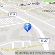 Karte Krankengymnastik Am Busbahnhof Meik Gladbeck, Deutschland
