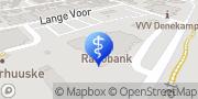 Kaart Fysiotherapie & Haptotherapie Leferink Denekamp, Nederland