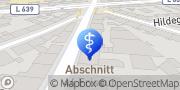 Karte Krankengymnastik Praxis Ute Fanghän Gelsenkirchen, Deutschland