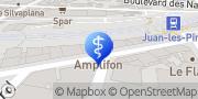 Carte de Amplifon Juan-les-Pins, France