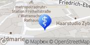 Karte Gesundheitshaus Watermann GmbH Bochum, Deutschland