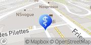 Carte de ORTHO Cabinet spécialisé en orthodontie Fribourg, Suisse