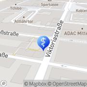 Karte Institut für Rechtspsychologie und Psychotherapie Koblenz, Deutschland